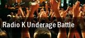 Radio K Underage Battle tickets