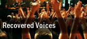 Recovered Voices Dorothy Chandler Pavilion tickets