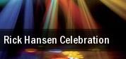 Rick Hansen Celebration Vancouver tickets