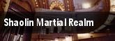 Shaolin Martial Realm tickets