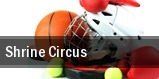 Shrine Circus Spartanburg Memorial Auditorium tickets