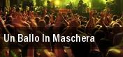 Un Ballo In Maschera tickets