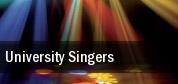 University Singers tickets