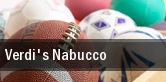 Verdi's Nabucco New Brunswick tickets