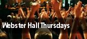 Webster Hall Thursdays tickets