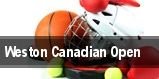 Weston Canadian Open tickets