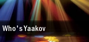 Who's Yaakov Byron Carlyle Theater tickets