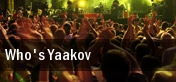 Who's Yaakov tickets