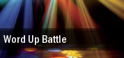 Word Up Battle tickets