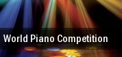 World Piano Competition Jarson Kaplan Theater tickets