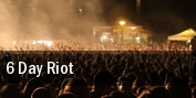 6 Day Riot Glasgow tickets