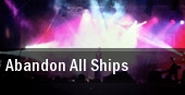 Abandon All Ships New York tickets