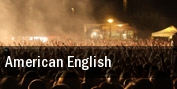 American English Fitzgeralds tickets