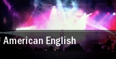 American English Genesee Theatre tickets