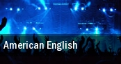 American English Saenger Theatre tickets