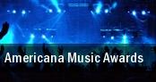 Americana Music Awards Ryman Auditorium tickets