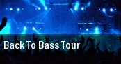 Back To Bass Tour Washington tickets