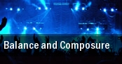 Balance and Composure Bowery Ballroom tickets
