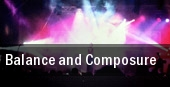 Balance and Composure Marquis Theater tickets