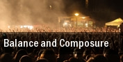 Balance and Composure The Sinclair Music Hall tickets