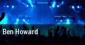 Ben Howard Soho Restaurant And Music Club tickets