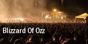 Blizzard of Ozz tickets