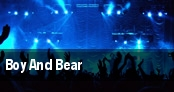 Boy And Bear tickets