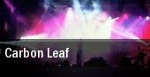 Carbon Leaf Hoboken tickets