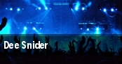 Dee Snider tickets