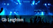 Gb Leighton Shank Hall tickets
