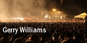 Gerry Williams tickets