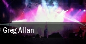 Greg Allan tickets