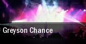 Greyson Chance Washington tickets