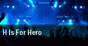 H is for Hero The Norva tickets