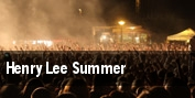 Henry Lee Summer tickets