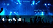 Henry Wolfe tickets