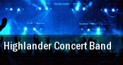Highlander Concert Band tickets