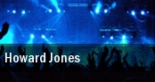 Howard Jones Morristown tickets