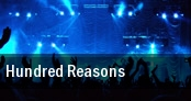 Hundred Reasons Glasgow tickets