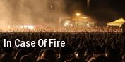 In Case of Fire New Roadmender tickets