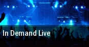 In Demand Live tickets