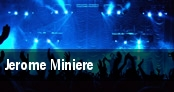 Jerome Miniere tickets