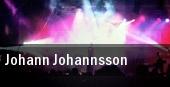 Johann Johannsson Vancouver tickets