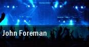 John Foreman tickets