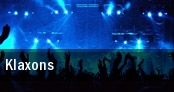 Klaxons Boston tickets