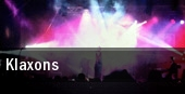 Klaxons Detroit tickets