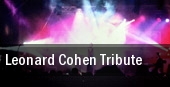 Leonard Cohen Tribute tickets