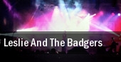 Leslie and The Badgers Maxwells tickets