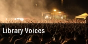 Library Voices Horseshoe Tavern tickets