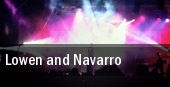 Lowen and Navarro Milwaukee tickets